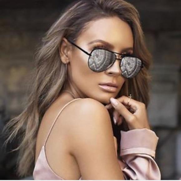 52b4fdfc2bb91 Flash Sale today!✨Quay x Desi high key mini silver.  M 5b85c3641b16dbfff4c38a1a. Other Accessories you may like. NEW Quay  Australia Sunglasses